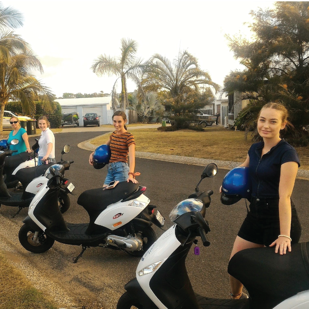 Kanga Tours Scooter and eBike Hire