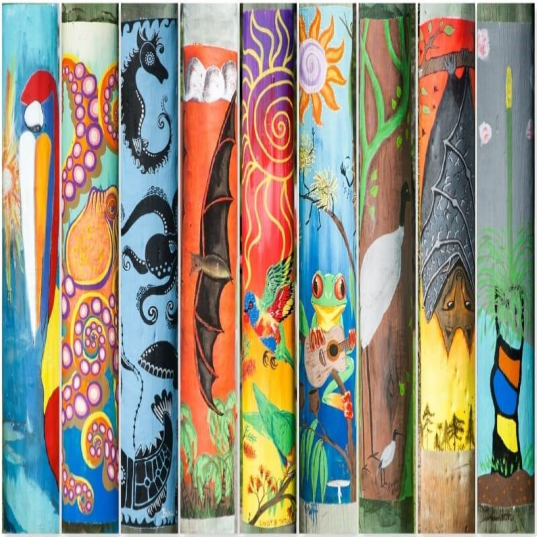 Agnes Water & Town of 1770 Pole Art Trail
